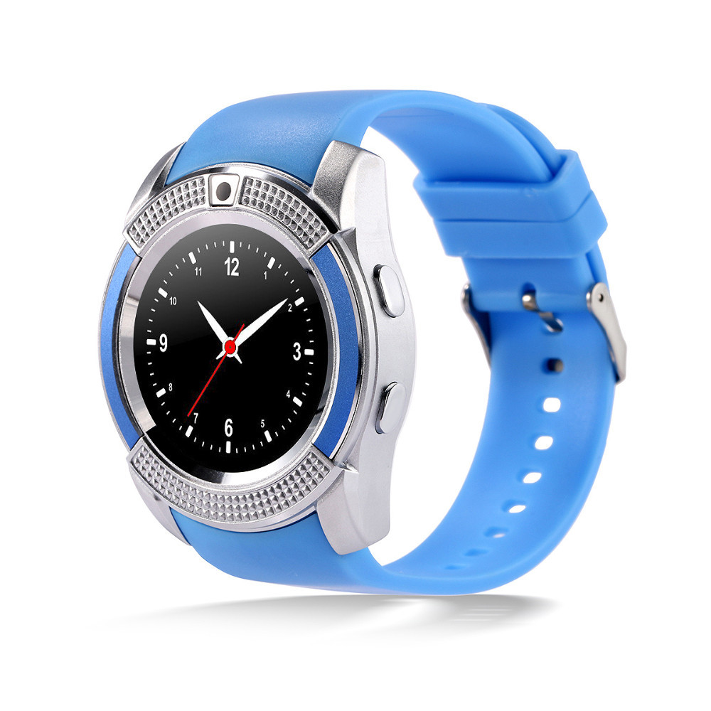 Умные часы (Smart Watch) V8 Blue