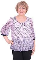 Женская блуза Офелия 4 БАТАЛ