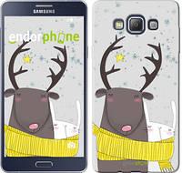 "Чехол на Samsung Galaxy A7 A700H Лось и зайка ""3286c-117"""