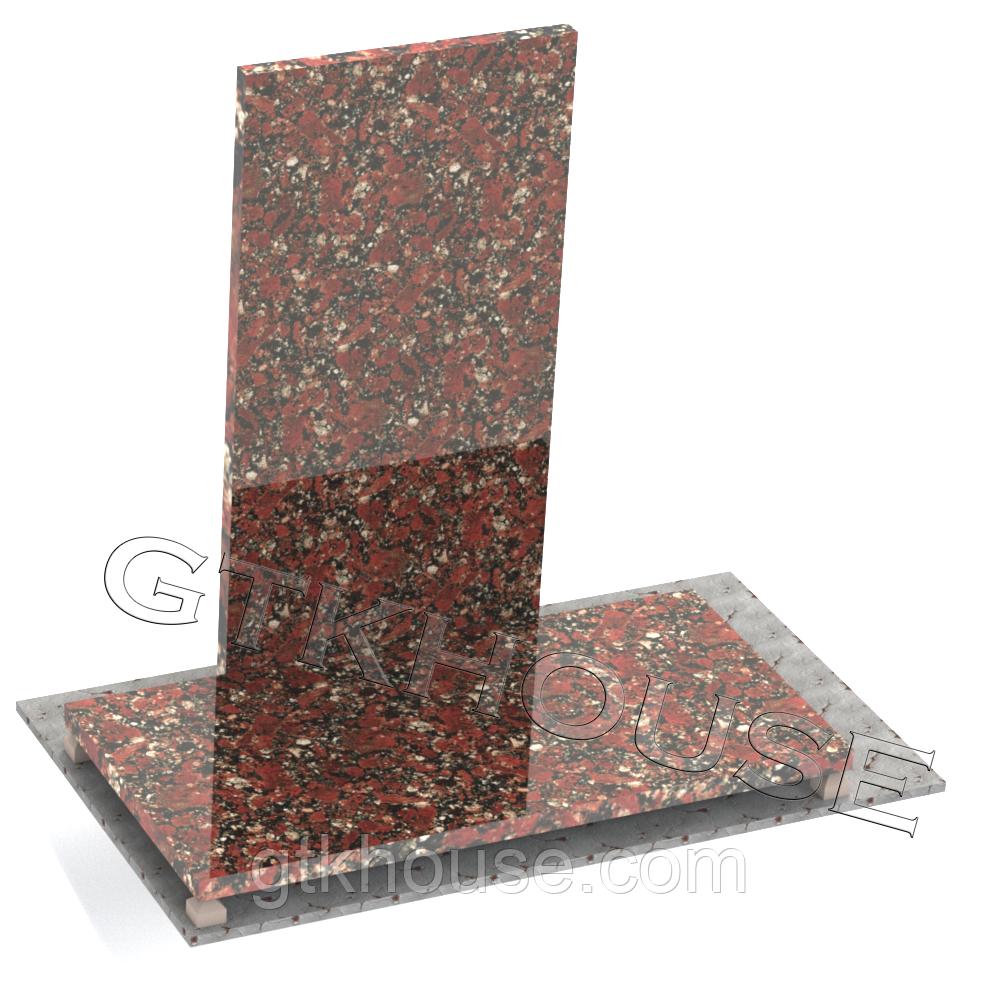 Плитка гранітна Капустинська нестандартні розміри