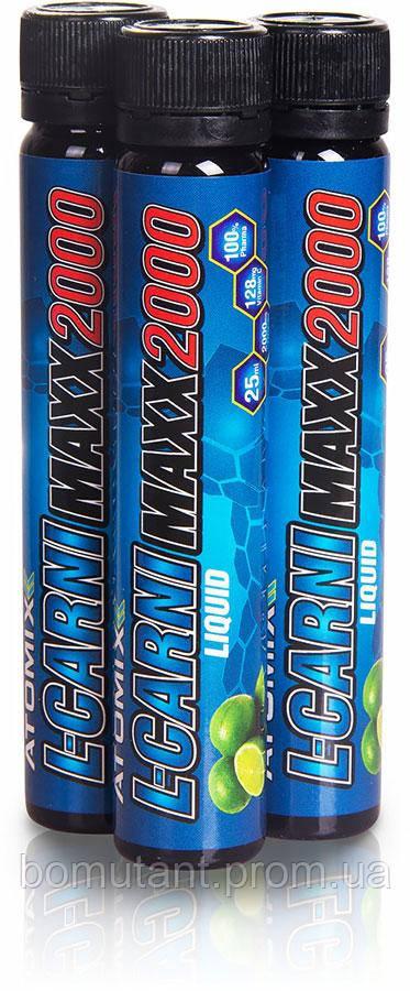L-Carni Maxx 2000 25 ml lime ATOMIXX