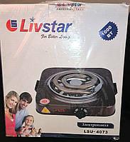 Электроплита настольная LIVSTAR LSU-4073 спиральная, толстый тэн