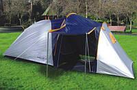 Палатка туристическая Abarqs Stella-3, 3-х местная палатка, большой тамбур