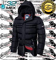 Зимние куртки на меху Braggart - 2502#2503 черный