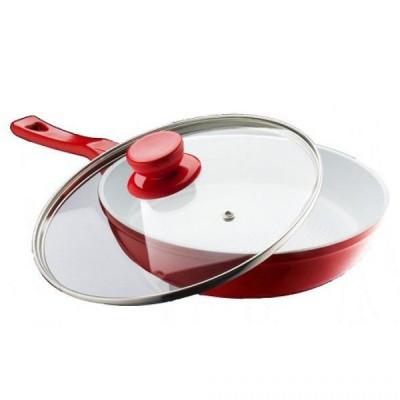 Сковорода PETERHOF PH-15356-24 с крышкой