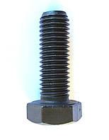 Болт с шестигранной головкой DIN 933 М10х80 мм кл. 10.9, без покрытия
