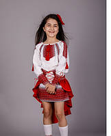 Вышитый костюм для девочки