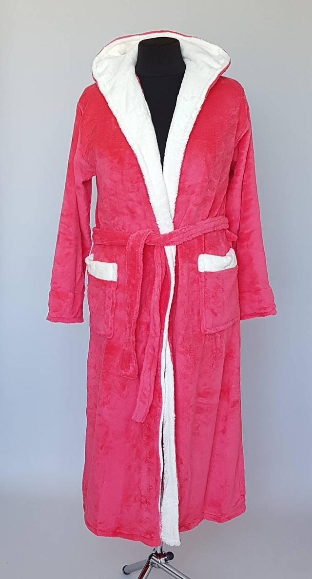махровый женский длинный халат
