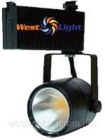 Трековый светильник LED 28W Черный, Прожектор ІNTEGRA LED Plunus mini 28W 5000К черн.