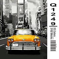 "Q1249 ""Нью-Йоркское такси"" Картина по номерам 40Х50см Mariposa Turbo"