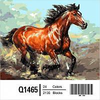 """Q1465 """"Наперегонки с ветром"""" Картина по номерам 40Х50см Mariposa Turbo"""