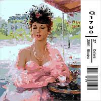 "Q1768 ""Французское кафе"" Картина по номерам 40Х50см Mariposa Turbo"