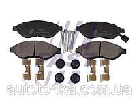 Колодки гальмівні дискові передні (комплект) FAST FT29130