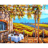 "VP001 ""Виноградные сады"" Картина по номерам  40Х50см Babylon Turbo"