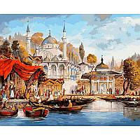 "VP486 ""Стамбул. Мечеть Ускюдар"" Картина по номерам  40Х50см Babylon Turbo"