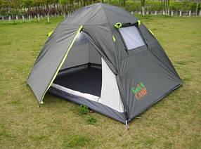 Палатка Green Camp 1001-A 2-х местная. 2-х слойная