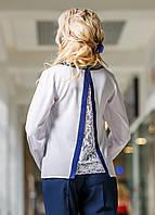Оригинальная женская блуза с красивой спинкой, фото 1