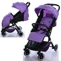 Коляска детская M 3549-9 фиолетовая