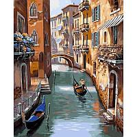 "VP668 ""Каналы Венеции"" Картина по номерам 40Х50см Babylon Turbo"
