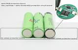 Аккумулятор 18650 Panasonic 3400 мАч с защитой, фото 2