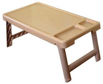 """Столик на кровать с разделителями """"Завтрак в постель"""" бежевый"""