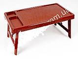 """Столик на кровать с разделителями """"Завтрак в постель"""" бежевый, фото 6"""