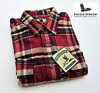 Рубашка-куртка мужская фланелевая Field&Stream® (США) (L)/100% хлопок/Оригинал из США