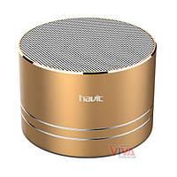 Портативная колонка HAVIT HV-SK556 Bluetooth Golden