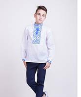 Мальчиковая вышитая сорочка крестиком