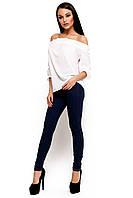 Жіноча біла блузка Jenn