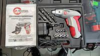 Аккумуляторная отвертка Intertool DT-0301