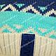 Комплект шапка и шарф для мальчика, Grans (Польша), утеплитель флис, A819F, фото 7