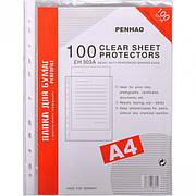 Файл А4 30 микрон 100 шт в упаковке