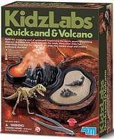 Детская лаборатория 4М Зыбучие пески и вулкан (00-03365)