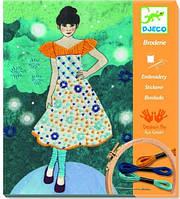 Художественный комплект Djeco Вышивка. Вечерняя мода (DJ09842)