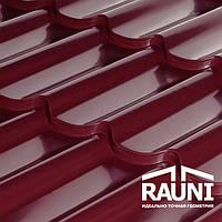 Металлочерепица от производителя, супер цена, RAUNI профиль STANDART (металл Корея)