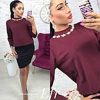 Женская блузка рубашка розовая новинка