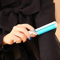 Многоразовый ролик-трансформер для чистки одежды карманный