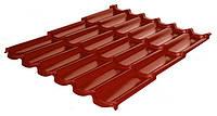 Металлочерепица RAUNI RAL 3011 (красная) PE 0,45 PREMIUM металл Китай