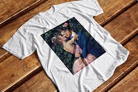 Фотопечать на футболке, толстовке, свитшоте