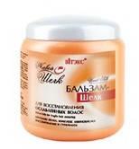 БАЛЬЗАМ-ШЕЛК для восстановления ослабленных волос ЖИВОЙ ШЕЛК