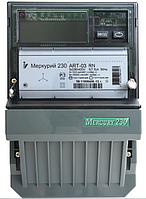 Электросчетчик Меркурий 230 ART-03 C(R)N 3*230/380В 5-7,5A кл.т. 0.5S / 1.0, ЖКИ, CAN(RS-485), многотарифный
