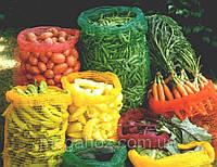 Сетка-мешок для овощей, картошки, моркови, лука 40 х 60 см, есть разные цвета., фото 1