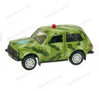 Моделька машины ВАЗ 2121 Нива Спецслужбы от Автопром
