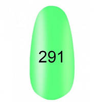 Гель-лак  Kodi 8 мл № 291 светло-зеленный, эмаль