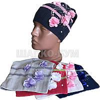 Осенняя шапка для девочки на осень