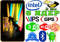 Планшет телефон Samsung T58 INTEL 8 ядер, 2sim,GPS,3G Android 5.1