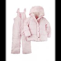 Зимний комбинезон для девочки Carters розовый, Размер 24м, Размер 24м