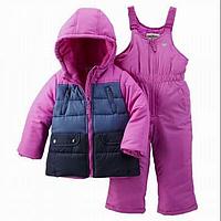 Зимний комбинезон для девочки OshKosh фиолетовый, Размер 18м, Размер 18м