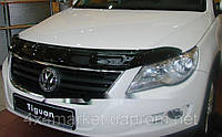 Дефлектор капота (мухобойка) EGR VW Tiguan 2008+
